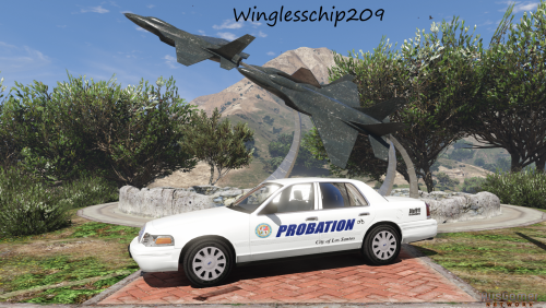 Blaine County fictional skin (sheriff) - Vehicle Liveries