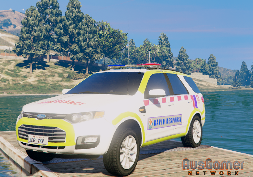 Ambulance Victoria | Rapid Response Livery for Ford