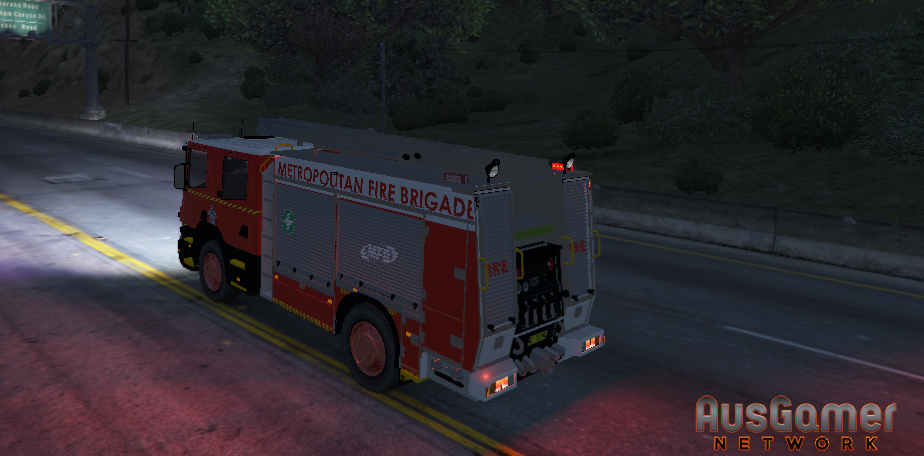 MAJOR REDEV] MFB Fire Truck Texture - Vehicle Liveries - AusGamer