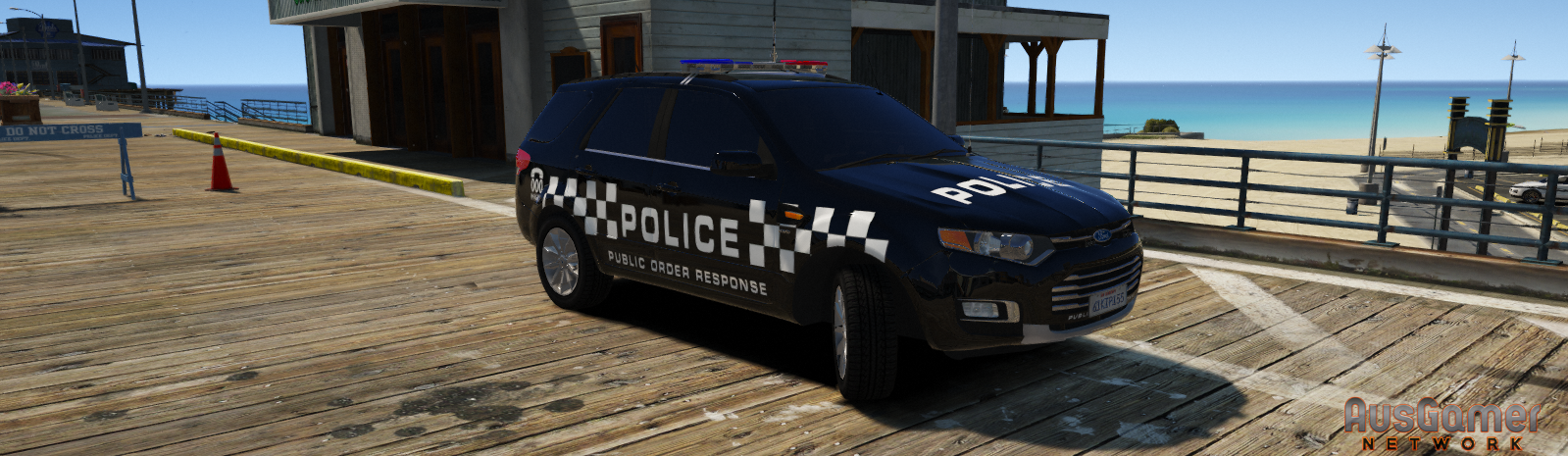 Victoria Police | P O R T Livery for Ford Territory - Vehicle